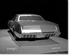 1964 XP-825 - May 1964 - also the rear is very similar to the final car