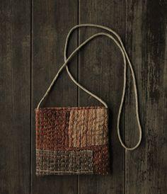 Jenn Harms's media content and analytics Sashiko Embroidery, Japanese Embroidery, Hand Embroidery, Boro Stitching, Kantha Stitch, Linen Bag, Shibori, Fabric Bags, Handmade Bags