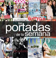 Las #portadas de la semana #Revistas Art Pop, Movies, Movie Posters, Magazine Covers, Colors, Women, Pictures, Pop Art, Films