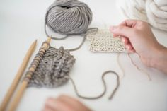 Knitting is an incredibly useful skill. Not only can you make clothes, accessories, and even home decor, with just a few sticks and some string, but the actual act of knitting is also amazingly meditative. So if you're ready to pick up this fun and relaxing DIY skill, here is some advice on where to start and HOW TO knit.