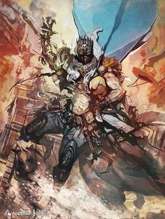 The Bandit King - Regular Version - , Reynan Sanchez on ArtStation at http://www.artstation.com/artwork/the-bandit-king-regular-version