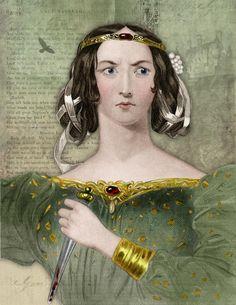 Lady Macbeth Shakespeare Print