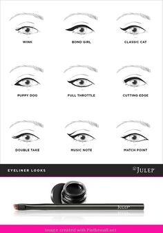 Gel eyeliner techniques... - a grouped images picture - Pin Them All #Nutrición y #Salud YG > nutricionysaludyg.com