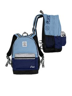 Mochila Victoria Secret, Victoria Secret Backpack, Backpack Purse, Fashion Backpack, Vs Pink Backpack, Cute Backpacks For School, Backpack For Teens, Pink Accessories, School Bags