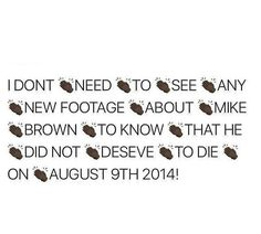 #BlackLivesMatter #MikeBrown