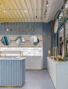 View the full picture gallery of Covent Garden Shop Jewelry Store Design, Eyewear Shop, Retail Store Design, Retail Stores, Retail Interior, Shop Interiors, Shop Interior Design, Commercial Design, Interior Architecture