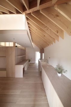 Image 18 of 29 from gallery of Wengawa House / Katsutoshi Sasaki + Associates. Courtesy of Katsutoshi Sasaki + Associates Attic Apartment, Attic Rooms, Attic Spaces, Attic Playroom, Attic House, Attic Loft, Attic Renovation, Attic Remodel, Attic Design
