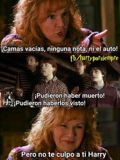 Pero no te culpo a ti Harry. La Saga Harry Potter, Harry Potter Tumblr, Harry Potter Hermione, Harry Potter Facts, Harry Potter Love, Harry Potter Universal, Harry Potter Fandom, Gina Weasley, Book Memes