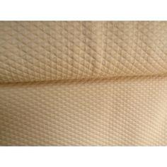 Úplet VS+PES Žakard kosoštvorce/krémová béžová