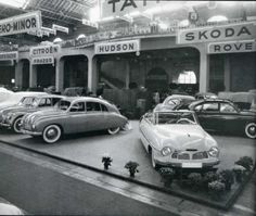 The Tatra stand at the Geneva Motor Show in 1949