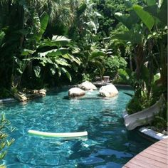 Tropical home design with mini pool (5)