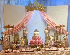 Dosel de cuna cama corona rosa decoración de la por WakeUpSweetPea