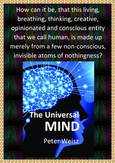 Consciousness, Illusions, Evolution, Kindle, Books To Read, Psychology, Universe, Mindfulness, This Or That Questions