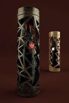 บรรจุภัณฑ์ กล่องไวน์ Concepts and Wine จาก Bunjupun.com