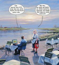 Freizeit-MARUNDE   Cartoons & Illustrationen von Wolf-Rüdiger Marunde
