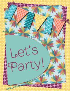Summer Smooches Birthday Invitation
