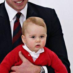 Le prince George de Cambridge a quitté le 25 avril 2014 l'Australie avec ses parents Kate Middleton et le prince William au terme d'une tournée océanienne de 19 jours.