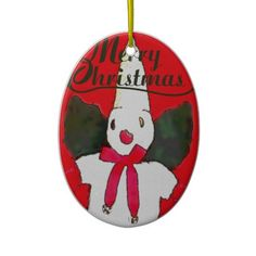 New Orleans Little Snowman Christmas Tree Ornament