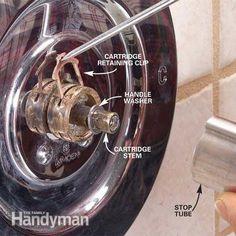 Dripping Shower Faucet Repair