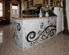 Mosaic's by Maude Lemaire, Kitchen Island