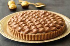 Cheesecake au mascarpone et Ferrero Rocher (sans cuisson)1