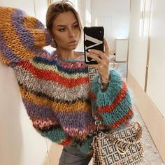 wear a unique sweater made by us. If you want a unique piece knitted especially for you then you know what to do! Hand Knitting, Knitting Patterns, Mohair Sweater, Sweater Making, Sweater Fashion, Pulls, Knitwear, Knit Crochet, My Style