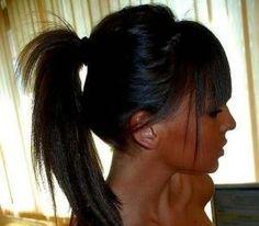 tan and ponytail