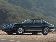 This All-Black Vintage Ferrari Will Make Your Heart Skip A Beat