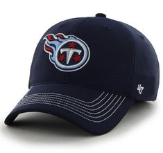 e9448ba9c7ede Tennessee Titans 47 Brand Navy Game Time Closer Performance Flexfit Hat Cap