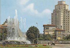 1974 plaza de españa.Vigo.
