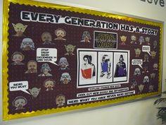 Star Wars Bulletin Board for Library