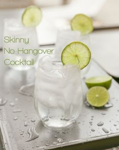 Skinny No-Hangover Cocktail - 14 Low Calorie Cocktails to Freshen You Up | GleamItUp