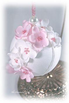Cherry Blossom Ornaments