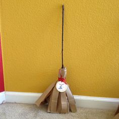 Harry Potter Broom Favors:  Bernie Botts, Bookmarks & Silly Bandz of HP inside!