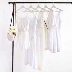 Fill your closet with this tried-and-true fresh hue. Hair Jewelry, Wardrobe Rack, Hue, Hair Styles, Pretty, Fill, Sleep, Fresh, Clothes