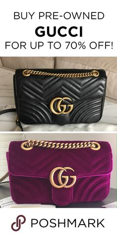 bceccd25e0ad Find authentic Gucci bags up to 70% off on Poshmark! Gucci Bags