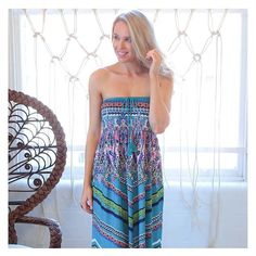 Make sure your wardrobe is stocked with summer essentials! Grab the 'Gypsy Heart Shirred Maxi Dress' on SALE for $25.00 over at shop.stfrock.com.au. Be quick before it sells out!  #stfrock #maxi #dress #summer #sale