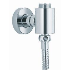 Fima by Nameeks Shower External Wall Union Finish: Brushed Nickel
