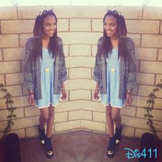 China Anne McClain Looking Adorable In A Dress May 26, 2013