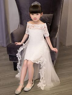 Cheap girls lace dress, Buy Quality birthday party dress directly from China ball gowns kids Suppliers: European elegant children's girl lace dresses tail christening ball gowns kids princess wedding birthday party dress Flower Girls, Princess Flower Girl Dresses, Girls Lace Dress, Baby Dress, Lace Dresses, New Dress For Girl, Kids Party Wear Dresses, Kids Dress Wear, Kids Gown