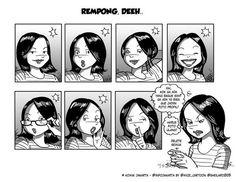 Rempong, deeh... #KomikJakarta @sheilaro2105