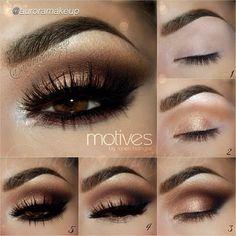 Step by step eyeshadow