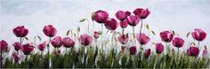 Çiçekler Tablo - Yağlıboya Tablolar - İyitablo.com