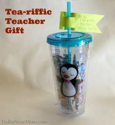 Tea-Riffic Teacher Gift Idea