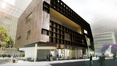Green Square Library and Plaza Competition Entry / Felix