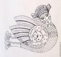 Птица Гамаюн— в славянской мифологии вещая птица, поющая людям божественные песни и предвещающая будущее тем, кто умеет слышать тайное. Гамаюн знает всё на свете.