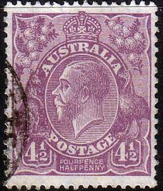 Australia 1926 SG 92 King George V Head Fine Used Scott 74 Other Australian Stamps HERE