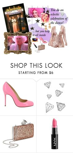 """Birdcage"" by fabulous-monsters ❤ liked on Polyvore featuring Christian Louboutin, WALL, Miss Selfridge, NYX and Oscar de la Renta"