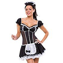 Buy Sexy Halloween Costumes for Women, Men French Maid Lingerie, French Maid Dress, French Maid Costume, Cosplay Outfits, Sexy Outfits, Matching Halloween Costumes, Adult Halloween, Halloween Party, Costume Sexy