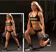 Bodybuilding.com - Ashley Hoffmann's High-Frequency Leg Workout